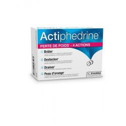 Actiphédrine 60 comprimés 3CPHARMA