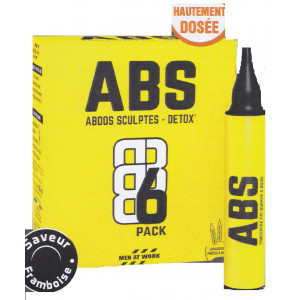 ABS6 Pack Abdos sculptés Unicadoses MEN AT WORK