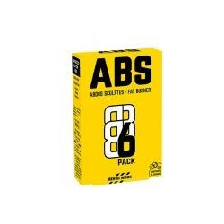 ABS6 Pack Abdos sculptés Fat Burner comprimés MEN AT WORK