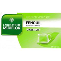 Médiflor infusion fenouil 24 sachets