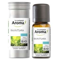 Ravintsara Huile Essentielle Bio 10 ml ou 30 ml Le Comptoir Aroma