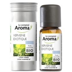 Verveine exotique Huile Essentielle Bio 10 ml Comptoir Aroma
