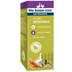 Flore intestinale solution Ma basse-cour Biocanina