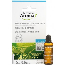 Roll-On fraîcheur aux huiles essentielles Bio Comptoir Aroma