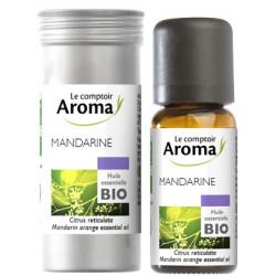 Mandarine Huile Essentielle Bio 10 ml Comptoir Aroma
