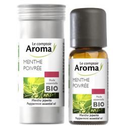 MENTHE Poivrée Huile Essentielle Bio 10 ml Comptoir Aroma