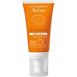 Crème solaire SPF 50+ Avène tube pompe 50 ml