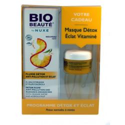 Fluide Détox Anti-pollution et Eclat BIO-BEAUTE