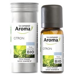 Citron Huile Essentielle Bio 10 ml Comptoir Aroma