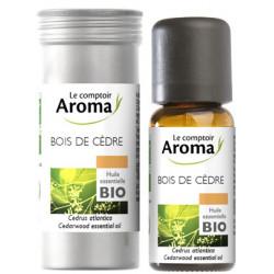 Cèdre ( Bois de) Huile Essentielle Bio 10 ml Comptoir Aroma