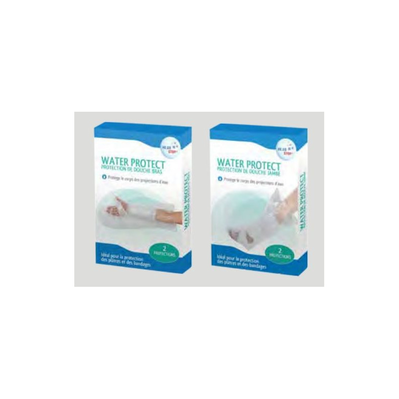 Water protect protection de douche pour pl tre jambe ou bras - Protection platre douche ...