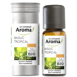 Basilic Tropical Huile Essentielle Bio 10 ml