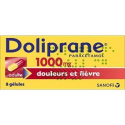 Doliprane 1000 mg 8 gelules