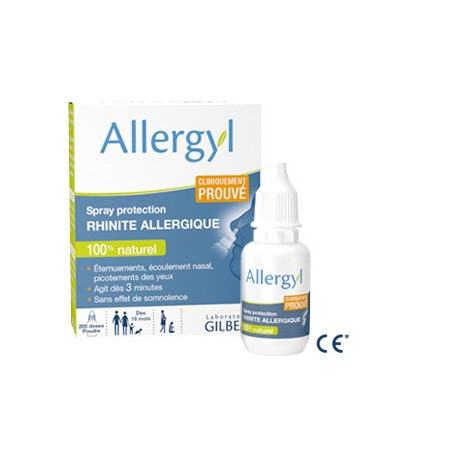 Allergyl Spray protection Rhinite allergique 500 mg