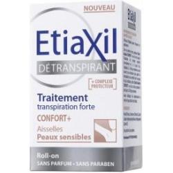 Etiaxil Détranspirant Aisselles Confort+  peaux sensibles bille 15 ml