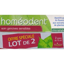 Homéodent Chlorophylle Dentifrice Soin gencives sensibles