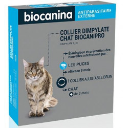 Collier insecticide Biocanipro Chat
