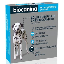 Collier insecticide Biocanipro pour chien