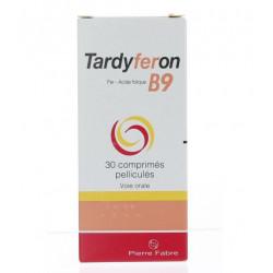 Tardyferon B9 30 comprimés