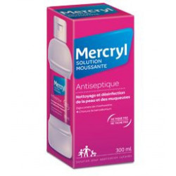 Mercryl solution moussante antiseptique