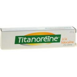 Titanoréïne à la lidocaïne 2% crème