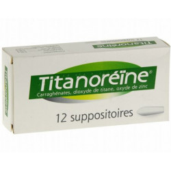 Titanoréïne suppositoires