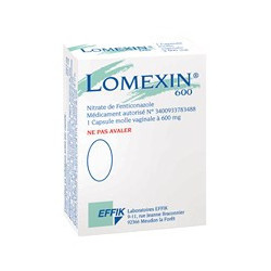 Lomexin 600 mg capsules vaginales