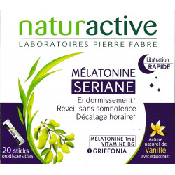 Seriane Mélatonine 20 sticks Naturactive