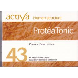 Activa 43 Proteatonic 60 comprimés