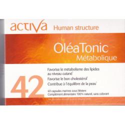 Activa 42 Oleatonic Métabolique 60 capsules