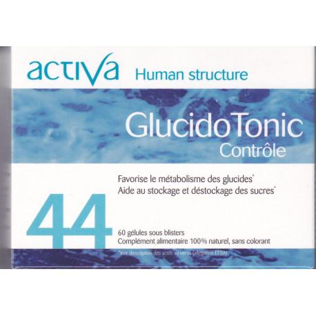 Activa 44  Glucidotonic Controle 60 gelules