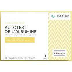 Autotest de l'ALBUMINE Medisur