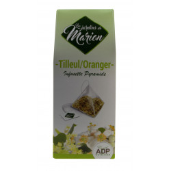 Tilleul Oranger Tisane infusette Les Jardins de Marion