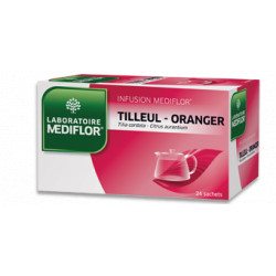Tilleul Oranger Tisane infusette Mediflor