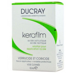 Kerafilm solution pour application locale 10ml Ducray
