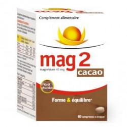 Mag 2 cacao comprimés à croquer