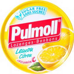 Pulmoll citron + vitamine C sans sucres