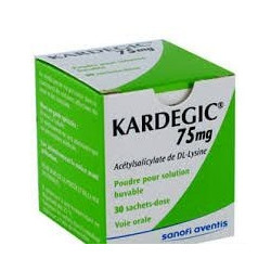 Kardegic 75 mg  30 sachets