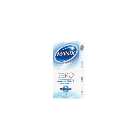MANIX Zéro imperceptible 12 préservatifs