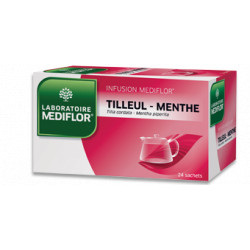 Tilleul Menthe Infusion Mediflor