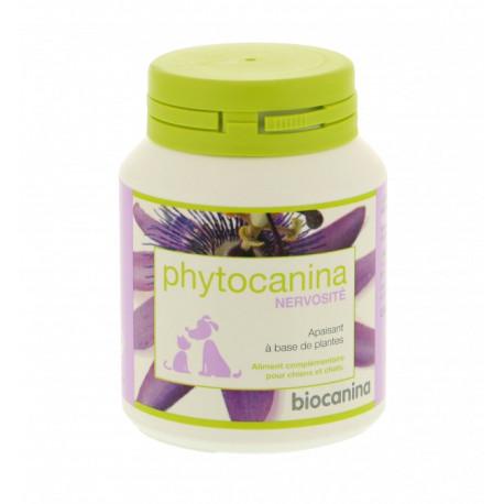 phytocanina nervosit 40 comprim s aux 3 plantes calmantes pour chien et chat biocanina. Black Bedroom Furniture Sets. Home Design Ideas