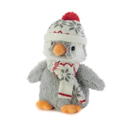 Bouillotte Peluche Pingouin à réchauffer au micro onde