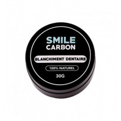 Smile Carbon blanchiment dentaire 100% naturel 30g