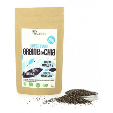 Graine de Chia Bio 200g Valebio