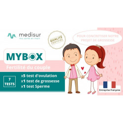 Pack MYBOX Fertilité Swimcount, Ovulation & Grossesse MEDISUR