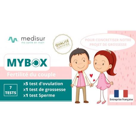Pack MYBOX Fertilité Swimcount, Ovulation & Grossesse MEDISUR