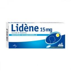 Lidène 15mg 10 comprimes