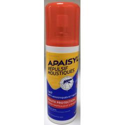 Répulsif Moustiques Haute Protection Apaisyl lait spray