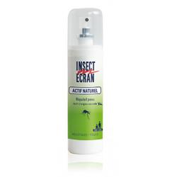 INSECT ECRAN Actif Naturel Répulsif  Peau