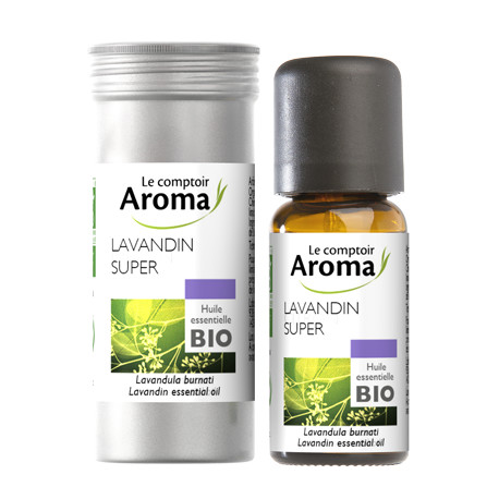 lavandin huile essentielle bio 10 ml comptoir aroma anti stress. Black Bedroom Furniture Sets. Home Design Ideas